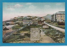 Vue De Sofar Hotel Casino Ain Sofar Mont Liban Lebanon Syria Syrie Timbre Turc CAD 1913 Ed Terzis Beyrouth Jerusalem - Libano