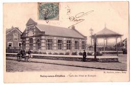 2827 - Soisy Sous Etiolles ( 91 ) - Salle Des Fêtes Et Kiosque - H.Pinchon  Tabac à Soisy - - Autres Communes