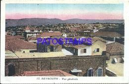 101816 LEBANON LIBANO BEYROUTH VIEW SGENERAL POSTAL POSTCARD - Libano