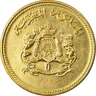 Monnaie, Maroc, Al-Hassan II, 5 Santimat, 1974, Paris, TTB, Aluminum-Bronze - Maroc