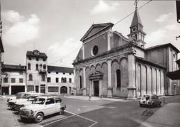 MOTTA DI LIVENZA-VICENZA-PIAZZA DUMO-CARTOLINA VERA FOTOGRAFIA NON VIAGGIATA ANNO 1955-1960 - Vicenza