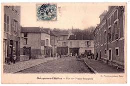 2829 - Soisy Sous Etiolles ( 91 ) - Rue Des Francs-Bourgeois - H.Pinchon  Tabac à Soisy - - Autres Communes