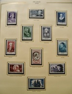 FRANCE COMPLET 1942/1957 TIMBRES NEUFS** SUP.  Dans SOMPTUEUX ALBUM PRESIDENCE  CERES /COTE TRES IMPORTANTE - Collections