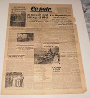 Ce Soir Du 10 Septembre 1944.(Baron Lionel De Wiett-Comte De Chambrun) - Magazines & Papers
