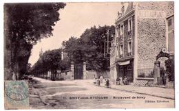 2830 - Soisy Sous Etiolles ( 91 ) - Boulevard De Soisy - éd. Ribotton - N°11 - - Autres Communes