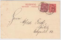 """Schleswig, 1920, Bedarf """" Wyk Auf För """" , #a1147 - Deutschland"""