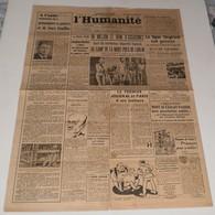 L'Humanité Du 17 Et 18 Sept 1944.(Camp De La Mort De Lublin-Ligne Siegfried) - Magazines & Papers