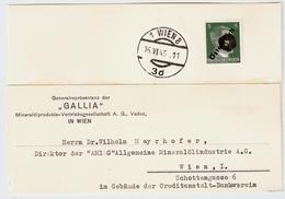 Frühe Bedarfs-Post Juni 1945 ,Schwärzung ! #a1148 - 1945-60 Briefe U. Dokumente