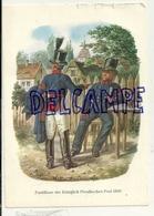 Postillons. Postillione Der Königlich Preussischen Post 1850 - Poste & Facteurs