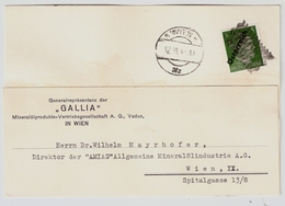 Frühe Bedarfs-Post Juni 1945 , Seltener Stp. #a1149 - 1945-60 Briefe U. Dokumente