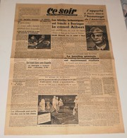 Ce Soir Du 9 Septembre 1944.(Objets D'art Volés-Paul Grimault BD-L'armée USA) - Magazines & Papers
