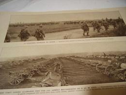 AFFICHE PHOTO CAVALERIE FRANCAISE EN ACTION 1918 - Affiches