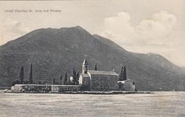Perast - Opatija Sv Jurja - Montenegro