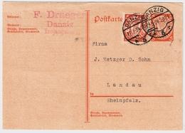 Danzig, Rollenzähnung, Nr. 193 Dx, Bedarf!   ,  #a1150 - Danzig