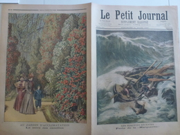 Le Petit Journal 21 Mars 1897 Perte La Marguerite Naufrage Trouville 14 Calvados Jardin D'Acclimatation Paris La Serre - 1850 - 1899
