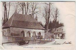 54. LONGWY HAUT . POSTE DE LA PORTE DE BOURGOGNE . SOLDATS . ANIMEE - Longwy
