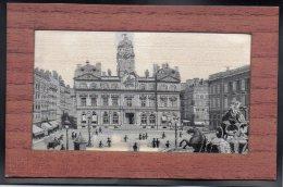 LYON 69 - Hotel De Ville - Broderie Sur Soie - Lyon