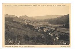 MARCIGNY  (cpa 71)  La Vallée De Semur, L'ancienne Et Curieuse Cité De Semur-en-Brionnais  -  L 1 - France