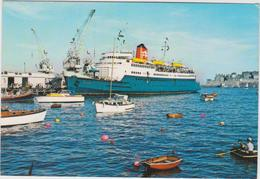 Bateau Paquebot  Jersey , Channel  Islands Mail  Steamer , St Hélier,st Peter , Iles  Anglo- Normandes (timbre) - Paquebote