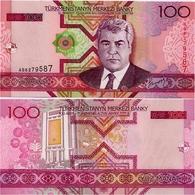 TURKMENISTAN       100 Manat       P-18       2005       UNC - Turkménistan