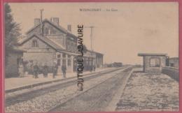 80 - WOINCOURT----La Gare-----animé - Other Municipalities