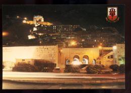 B7437 GIBRALTAR - MORISH CASTLE FROM WATERPORT - Gibilterra