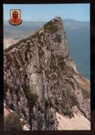 B7440 GIBRALTAR - VIEW OF ROCK GUN FROM CABLE CAR STATION - Gibilterra