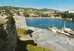 Ulcinj - Port W Ship , Jadrolinija 1973 - Montenegro