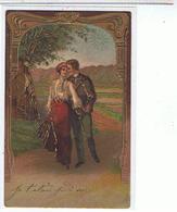 COUPLE DORURES RELIEFS 1904 - Coppie