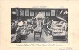 75 - PARIS 7 ème ( Commerce / Grands Magasins ) AU BON MARCHE - 24 Rue De Sèvres : Objets D'Art Dentelles Anciennes CPA - Shops