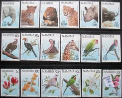 NAMIBIA  1997  18 V MNH - Timbres