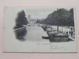 La Moyenne Deûle LILLE () Anno 19?3 ( Voir Photo Svp ) ! - Lille