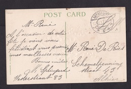 Netherlands: Field Post Postcard, 1917, Cancel Amersfoort, Postage Free, Interned French Military? (traces Of Use) - Briefe U. Dokumente