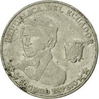 Monnaie, Équateur, 10 Centavos, Diez, 2000, TB, Steel, KM:106 - Ecuador