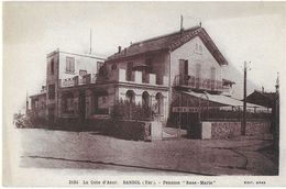 BANDOL 83 VAR 2184 LA COTE D'AZUR  PENSION ROSE-MARIE EDIT. GRAS - Bandol