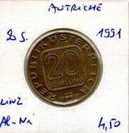 Autriche. 20 S. 1991. Linz - Autriche