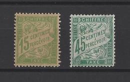 FRANCE. YT  Taxe  30A-36  Neuf **  1893 - Taxes