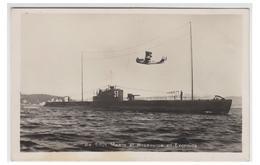 France -- Manoeuvre 1939/1940 -- Hydravion Survolant Un Sous-marin Type 1500t -- Au Large De Toulon.--réserviste Naval-- - Manoeuvres
