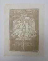 Ex-libris Illustré XXème - Italie - ING. GIANNI MANTERO - Ex-libris