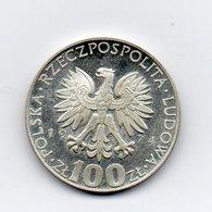 Polonia - 1974 - 100 Zloty - Argento - Proof - Vedi Foto - (MW1578) - Polonia