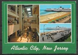 New Jersey, Atlantic City, Multiview, Unused - Atlantic City