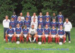 52983  Cpm  Football Mondial 1998  - L'Equipe De France - Fútbol