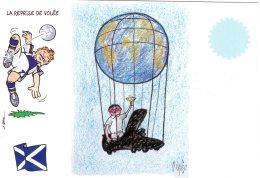 52989 Cpm  Football Mondial 1998 - La Reprise De Volée -   Illustrateur  R. Pagès - Soccer