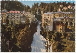 Weltkurort Badgastein 1083 M, Unterer Wasserfall, Austria, 1975 Used Postcard [21942] - Bad Gastein