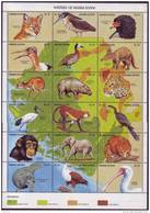 ( 1385 )  Sierra Leone - Fauna - Mammals - Birds - Maritim Mammals - - Postzegels