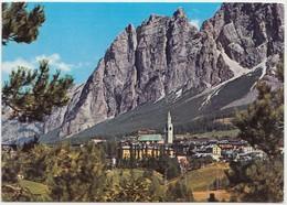Dolomiti, Cortina M. 1224, Verso Il Pomagagnon PUNTA FIAMES M. 2178, Italy, 1974 Used Postcard [21943] - Italy