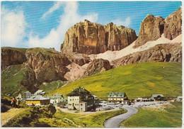 Dolomiti, PASSO PORDOI M. 2250, Cima Pordoi M. 2950, Italy, 1975 Used Postcard [21944] - Other Cities