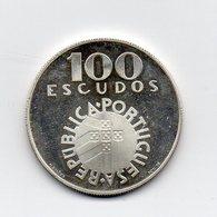 Portogallo - 1974 - 100 Escudos - Proof - Argento - (MW1580) - Portogallo