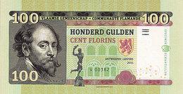Flandres 100 Florins 2015  Spécimen UNC - [ 8] Fakes & Specimens
