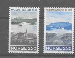 Serie De Noruega Nº Yvert 1055/56 ** - Noruega